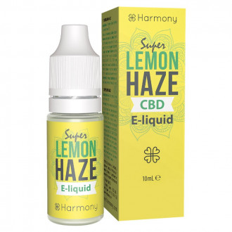 Harmony CBD E-Liquid - Super Lemon Haze 30-600mg (nikotinfrei)