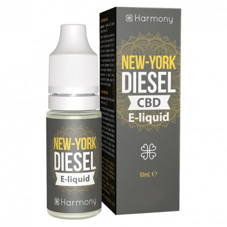 Harmony CBD E-Liquid - New York Diesel 30 - 600mg (nikotinfrei)