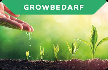 Growbedarf